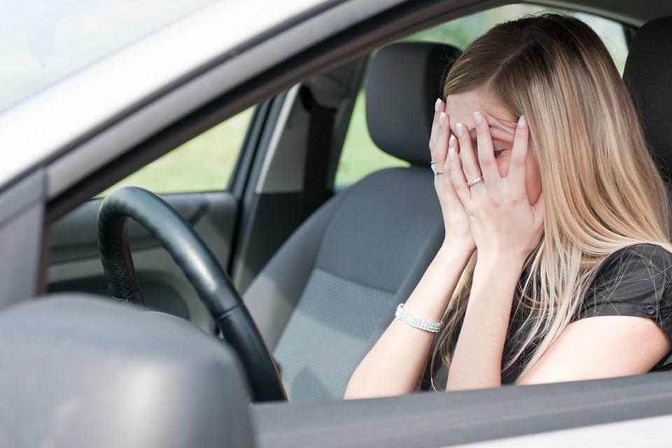 رانندگی هنگام ناراحتی
