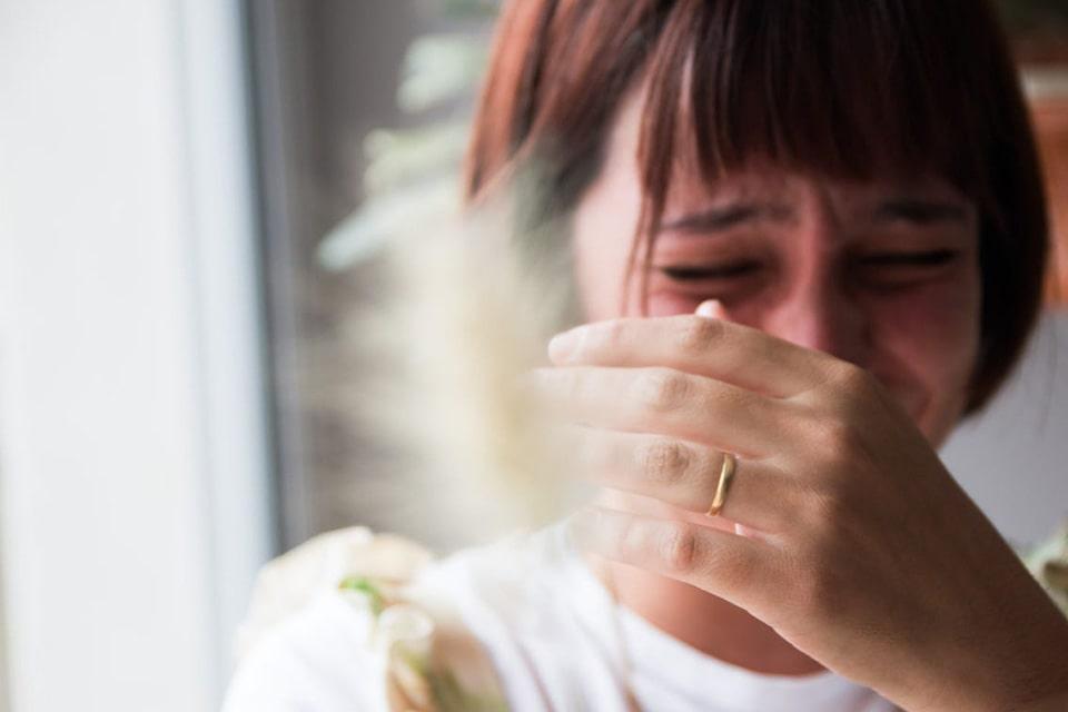 گریه کردن هنگام خیانت همسر