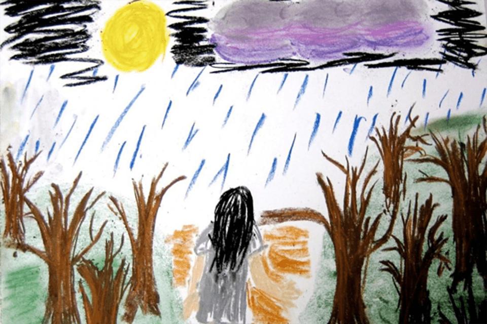 تحلیل احساسات کودک از روی نقاشی