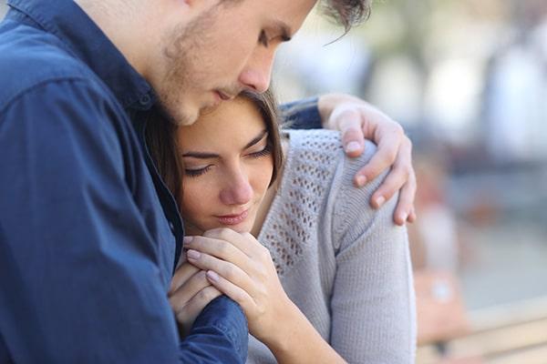 انرژی مثبت به همسر افسرده