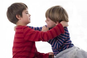 چرا کودک پرخاشگر می شود؟