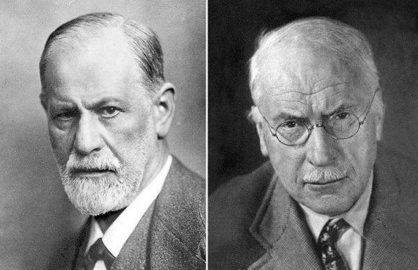 يونگ و فرويد دو شخصيت تأثيرگذار در روانكاوي