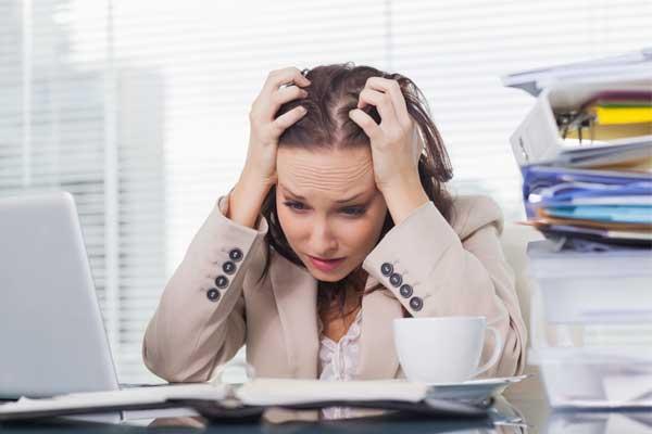 نشانه های استرس و اضطراب